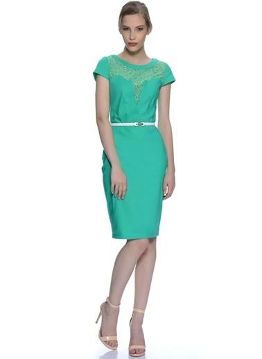 PAPER DOLLS Elbise Yeşil